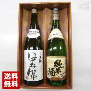 伊丹老松酒造 伊丹郷 純米酒 1800ml×2本セット|sakenochawanya