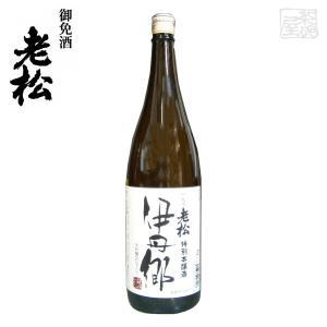 伊丹老松酒造 特別本醸造 伊丹郷 1800ml 【製造年月2019年4月】|sakenochawanya