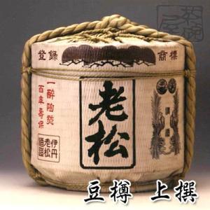 伊丹老松酒造 豆樽 上撰 1800ml 日本酒 菰樽|sakenochawanya