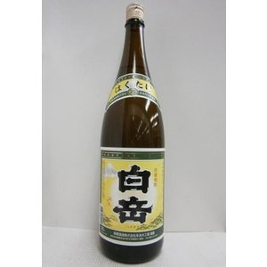 米焼酎 白岳 25% 1800ml*1ケース(6本)|sakenochawanya