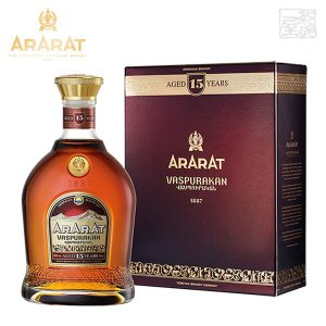 アララット 15年 ヴァスプラカン 並行 40% 700ml アルメニアブランデー|sakenochawanya