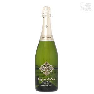 セグラヴューダス セミセコ(やや甘口)正規 12% 750ml スパークリングワイン(カバ)|sakenochawanya