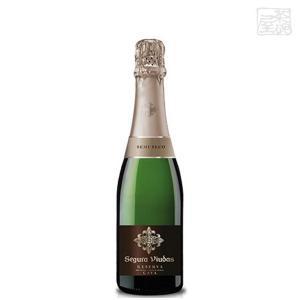 セグラヴューダス セミセコ(やや甘口)正規 ハーフボトル 12% 375ml スパークリングワイン(カバ)|sakenochawanya