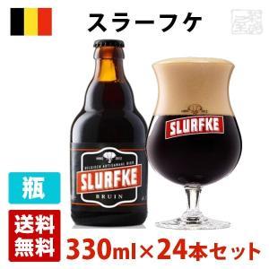 スラーフケとは「子供の像の鼻」を意味します。ダブルタイプのビールらしく、赤みがかかった黒色のボディに...