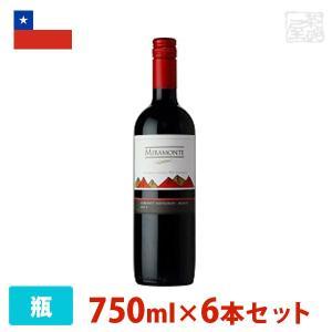 ミラモンテ 赤 750ml ミディアム  赤ワイン チリ|sakenochawanya
