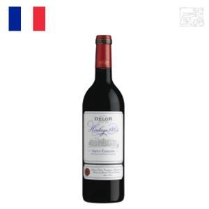 デロー サンテミリオン 750ml フルボティ  赤ワイン フランス|sakenochawanya