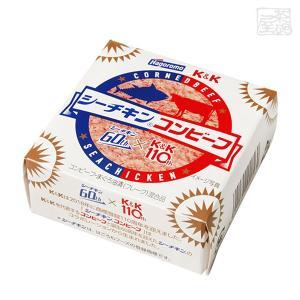 シーチキンコンビーフ 缶詰 K&K はごろもフーズ|sakenochawanya