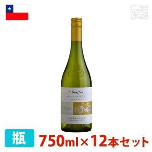 コノスル シャルドネ ビシクレタ レゼルバ 750ml 12本セット 白ワイン 辛口 チリ sakenochawanya