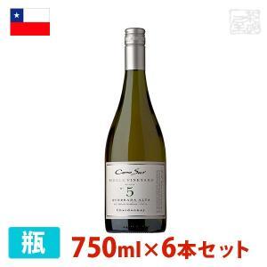コノスル シングルヴィンヤード シャルドネ 750ml 6本セット 白ワイン 辛口 チリ sakenochawanya