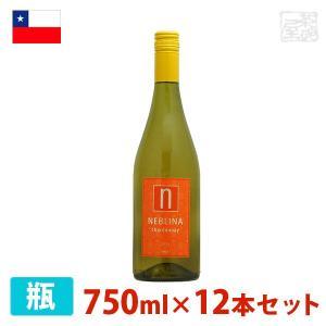ネブリナ シャルドネ 750ml 12本セット 白ワイン 辛口 チリ sakenochawanya