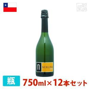 ネブリナ スパークリング 750ml 12本セット 白泡 ワイン 辛口 チリ sakenochawanya