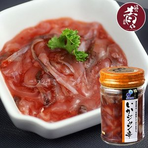 布目  いかジャン辛(瓶詰め120g)|sakenosakana