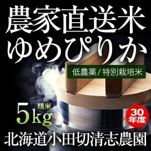 小田切清志農園の ゆめぴりか 5kg (特別栽培米/北海道産) 29年産 新米|sakenosakana
