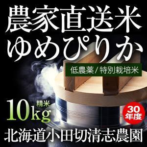 小田切清志農園の ゆめぴりか 10kg (特別栽培米/北海道産) 29年産 新米|sakenosakana