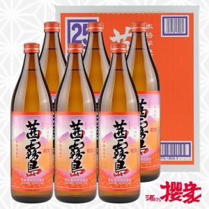 茜霧島 25度 900ml×6本セット 芋焼酎 霧島酒造 宮崎|sakenosakuraya