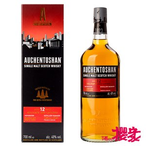 オーヘントッシャン 12年 40° 700ml  スコットランド ウイスキー sakenosakuraya