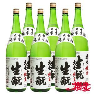 大七 純米 生もと まとめ買い 1800ml×6本 日本酒 大七酒造 福島 地酒 ふくしまプライド。体感キャンペーン(お酒/飲料)|sakenosakuraya