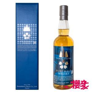 PUREMALT YAMAZAKURA 48°700ml 笹の川酒造 ウイスキー ふくしまプライド。体感キャンペーン(お酒/飲料) sakenosakuraya