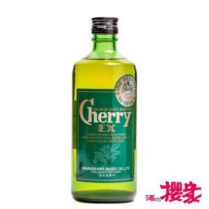 山桜 チェリーウイスキーEX 40° 500ml 笹の川酒造 ウイスキー ふくしまプライド。体感キャンペーン(お酒/飲料) sakenosakuraya