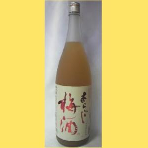 あらごし 梅酒 1800|sakenotonda
