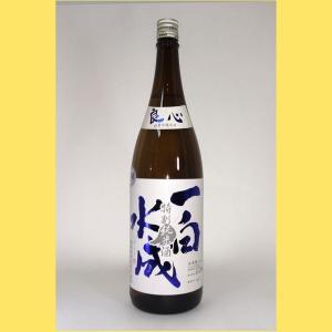 【2021年3月】一白水成 特別純米 良心 1800ml|sakenotonda