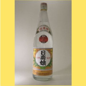 【レア商品】日南娘 透明瓶 紅はるか1800|sakenotonda