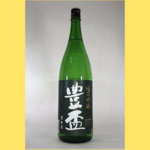 【2021年2月出荷分】 豊盃 純米吟醸  1800ml sakenotonda