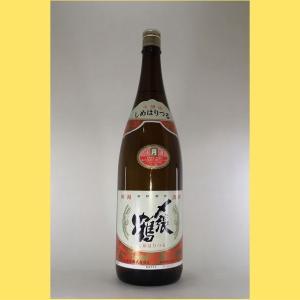【2020年12月〜】〆張鶴 本醸造 月 1800ml|sakenotonda