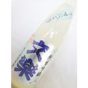 文楽 限定醸造 純米吟醸うすにごり 720ml|sakesawaya