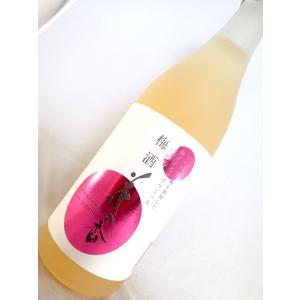 【熊本地震の際の純米大吟醸酒で仕込んだ梅酒です】花の香 梅酒 720ml|sakesawaya