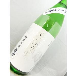【人気の栗ラベル入荷!!】春霞 栗ラベル・白 酒こまち仕込み 純米吟醸無濾過生 1800ml|sakesawaya