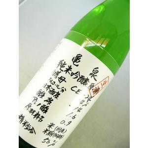 亀泉 初しぼり 純米吟醸生原酒 CEL-24 1800ml sakesawaya