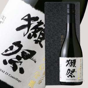 獺祭 純米大吟醸 遠心分離磨き23 箱入り 720ml (日本酒/旭酒造/山口県/だっさい)