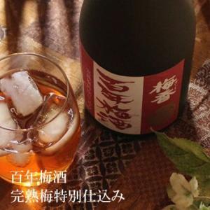 梅香 百年梅酒 完熟梅特別仕込み 1800ml|sakeweb|02