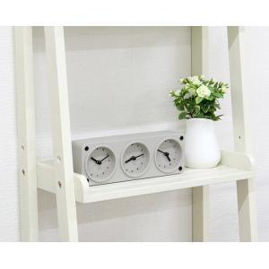 置時計 置き時計 グレー コンクリート製 シンプル おしゃれ かわいい インテリア ナチュラル リビング 寝室 新築祝い 結婚祝い ギフト プレゼント UM TS WEB限定|sakoda