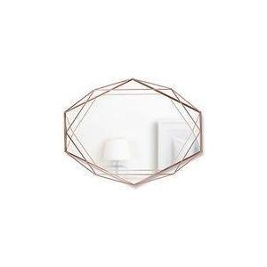 プリズマミラー コパー 壁掛け ミラー 鏡 おしゃれ ウォールミラー ER web限定 TS|sakoda