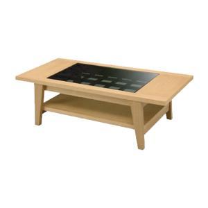 センターテーブル 幅120 LBR(タモ) エリック おしゃれ リビング 書斎 インテリア テーブル シンプル SK web限定 TS|sakoda