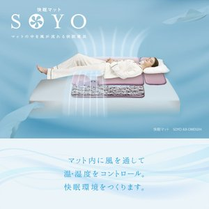 快眠マット SOYO   AX-DM050H   4948731021412  仕様  ■素材:本体...