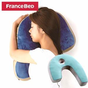 枕 FRANCEBED フランスベッド スリープ バンテ−ジ ピロー 135 抱き枕 ブルー 横向き 枕 いびき SAKODA サコダ|sakoda