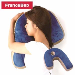 枕 FRANCEBED フランスベッド スリープバンテ−ジ プレミアム ピロー ブルー 横向き 枕 いびき SAKODA サコダ 迫田|sakoda