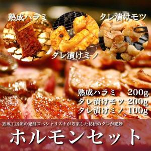 焼肉ホルモンセット あすつく熟成肉 ハラミ モツ 上ミノ saku2