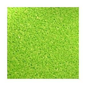 カラーサンド イエローグリーン 0.2-0.5mm/1000g|sakura-cer