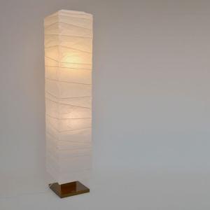 大型和紙照明 フロアスタンド 揉み紙 高さ:134cm|sakura-cer