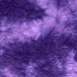 手漉き揉み染め和紙 青 11|sakura-cer