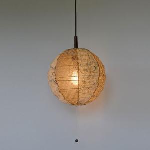 和紙照明 1灯ペンダントライト ツインバナナ 直径30cm|sakura-cer