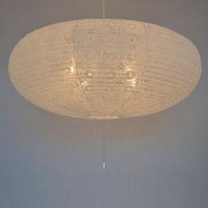 和紙照明 4灯ペンダントライト 宙白|sakura-cer