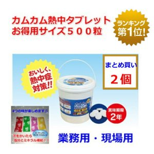 備えておけば安心。汗をかいたら塩分と水分補給。熱中飴 塩飴 塩タブレットカムカム 熱中症対策 カムカ...