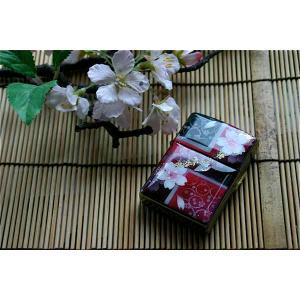 【桜色】zippo「宇」 匠の技!桜色限定ジッポ!職人の手作り!和柄オリジナル商品です!2商品購入で送料無料! sakura-iro