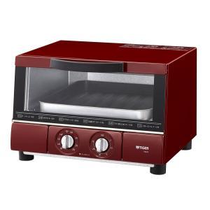 タイガー オーブン トースター レッド やきたて...の商品画像