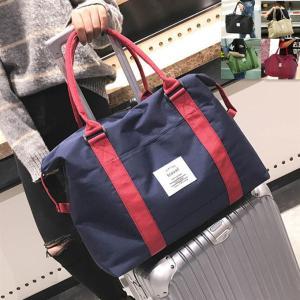 キャリーオンバッグにもなる<br>便利なボストンバッグ。 ちょっとしたお出かけはもちろん...